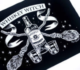 Whiskey Witch - Back Patch