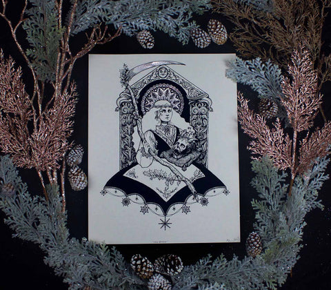 SALE! Yule Queen - ✷LIMITED EDITION✷ Print