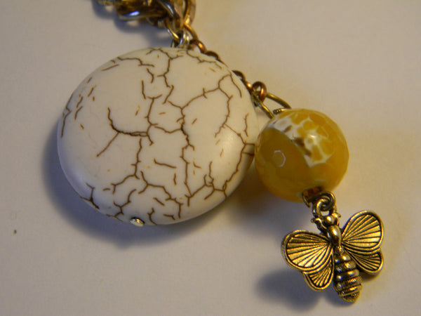 Honeybee and Honey Bead