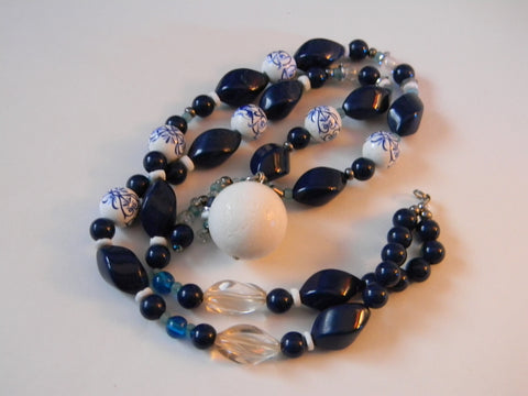 Blue Rooster Bead