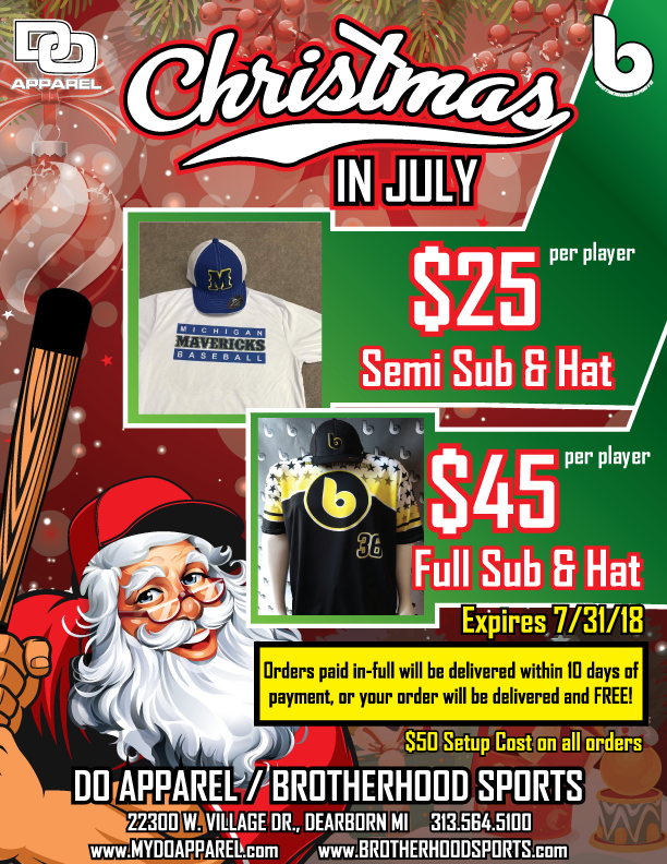 Christmas in July Ad