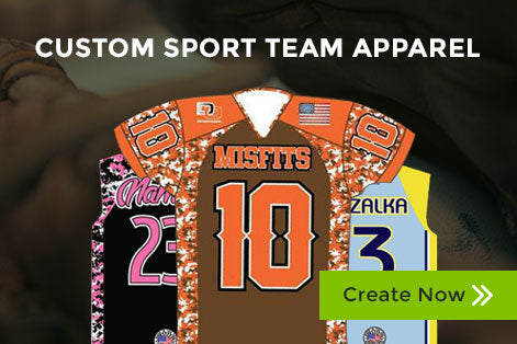 Custom Sports Team Apparel
