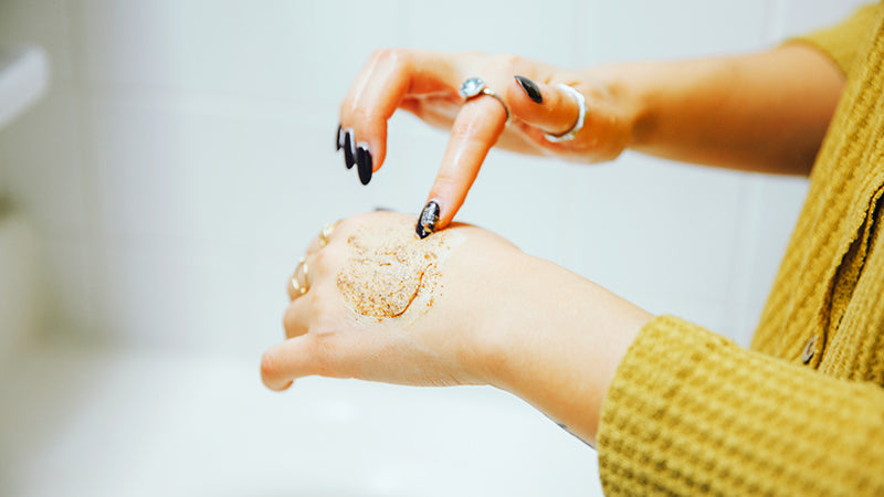 Skin Exfoliation & Your Hands!