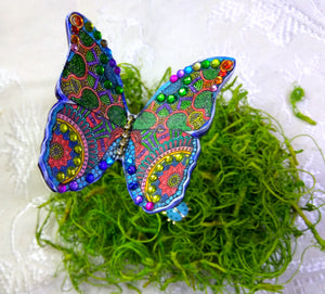 Bright, Bold, Butterflies!  Projects from our Butterfly Bollywood Create Along Box!