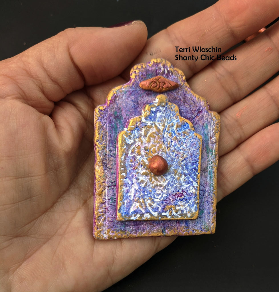 How to Create a Unique Polymer Clay Shrine Bead