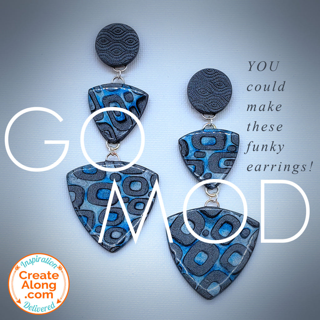 Make These Mod Dangle Earrings!