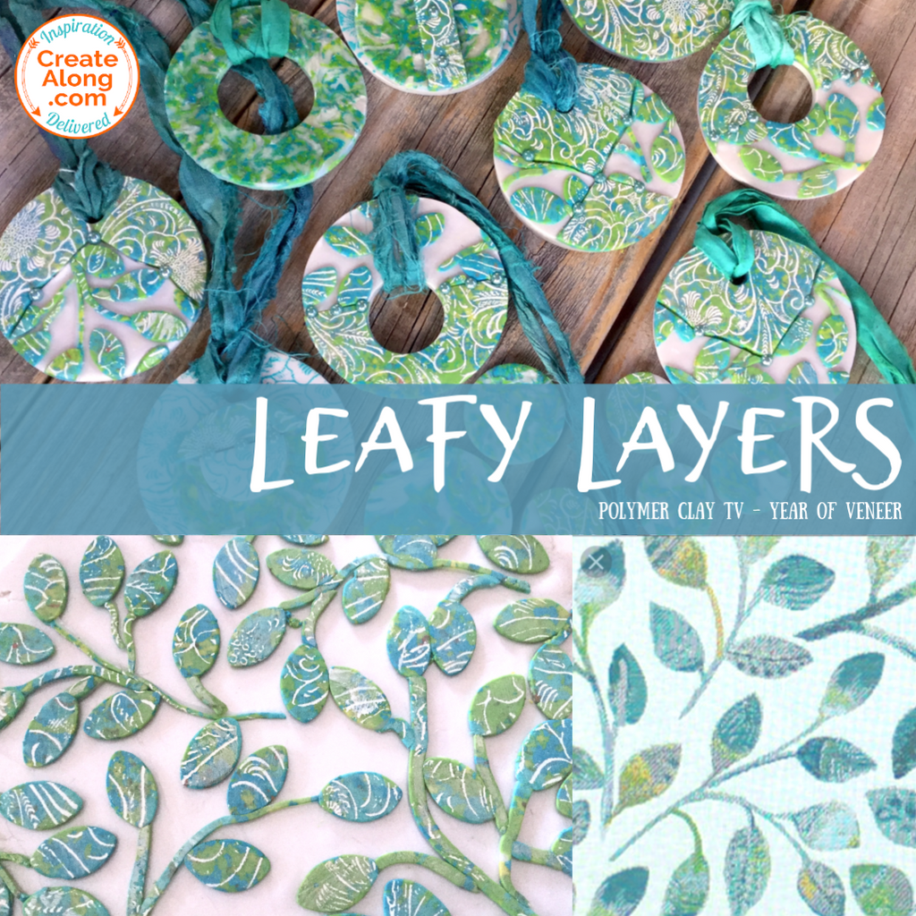How to Make 3 Coordinating Leafy Layers Veneers