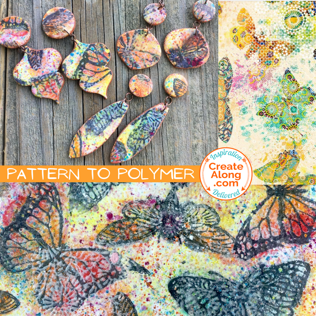 Learn How to Make Confetti Butterflies Polymer Clay Jewelry