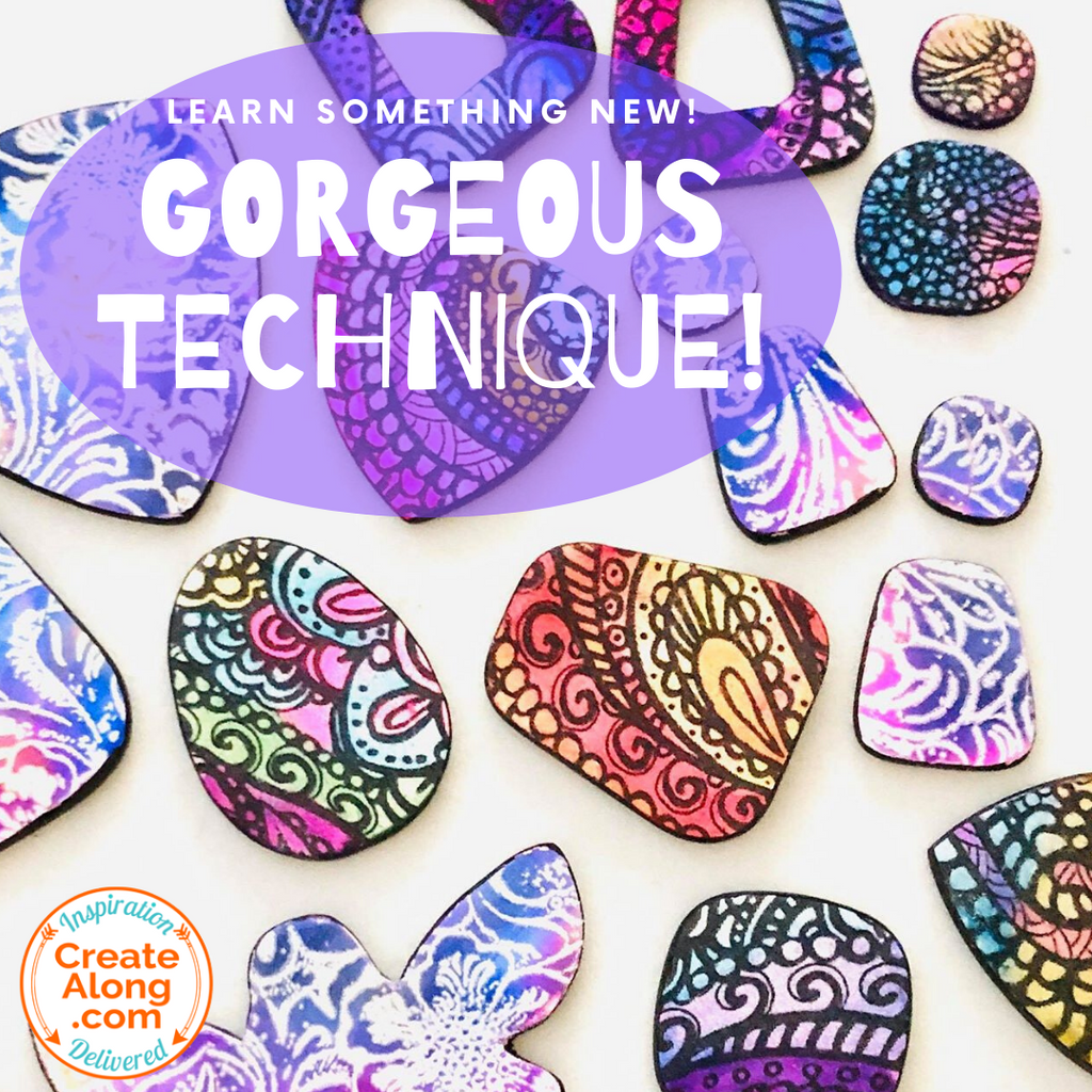 Learn a GORGEOUS Technique for Polymer Clay