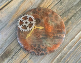 Year of Veneer- Introducing Cindi McGee- and Faux Rust for polymer clay