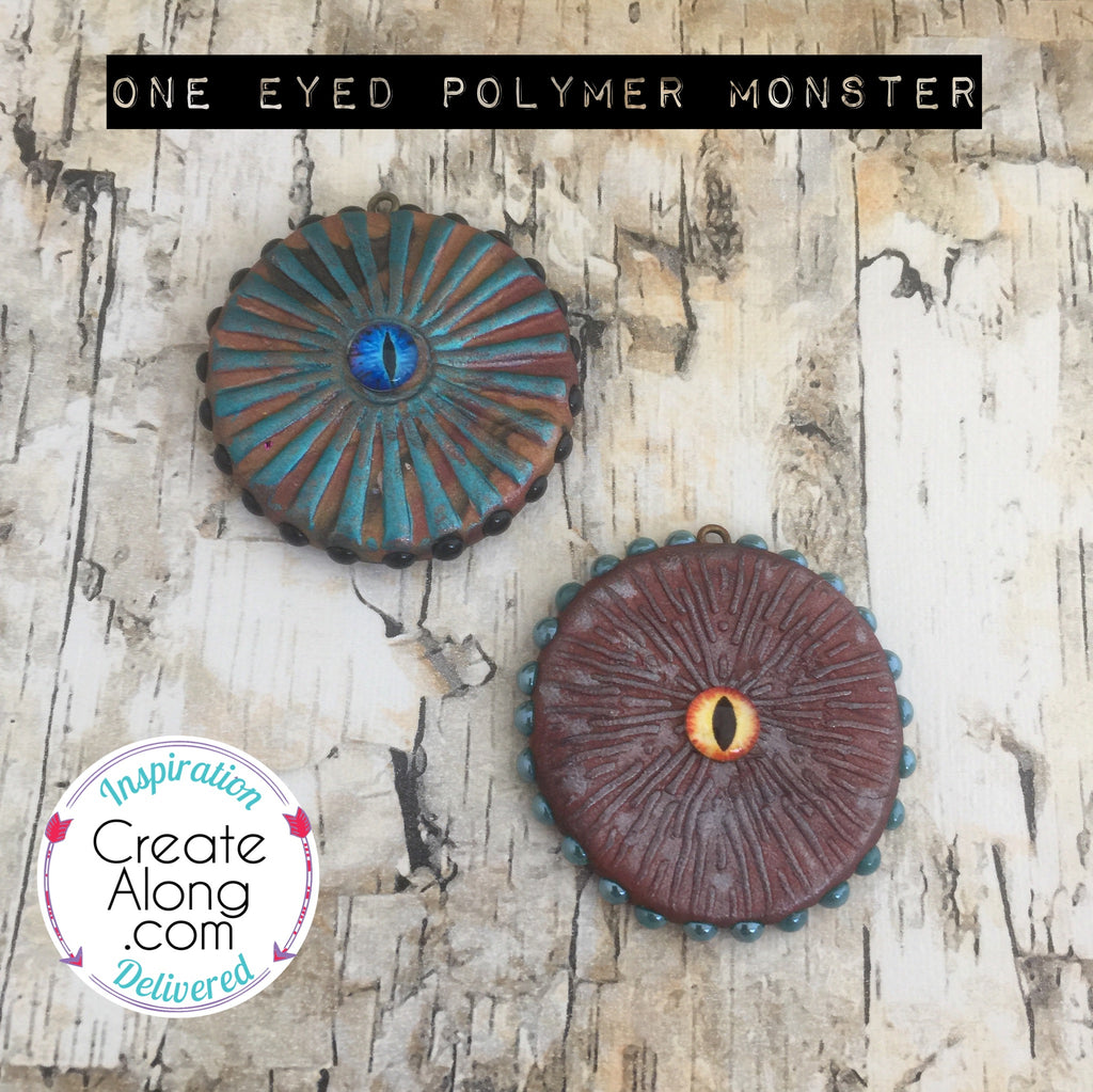 Polymer Clay One Eyed Monster Tutorial