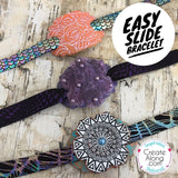 Polymer Clay Easy Slide Bracelet Tutorial