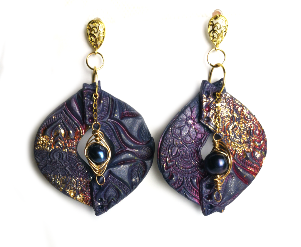 Create These Stunning Bzyantine Earrings