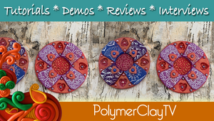 Polymer Clay Tutorial Lacey Layers Veneer