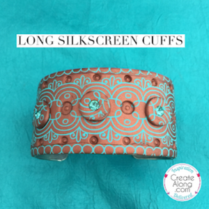 Long Silkscreens Create the Best Cuff Bracelets & 10th Anniversary