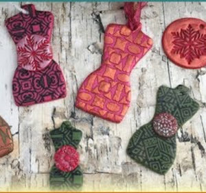Fun Polymer Clay Christmas and Holiday Gift Tags & Inspiration