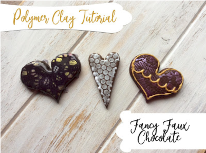 How to make calorie-free faux chocolate from polymer clay!