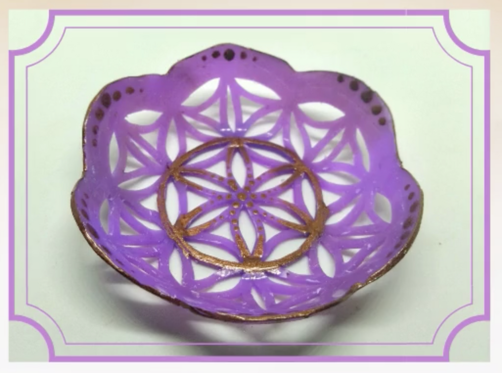 How to Make a Polymer Clay Ring Bowl with Intricate Cut Out Details