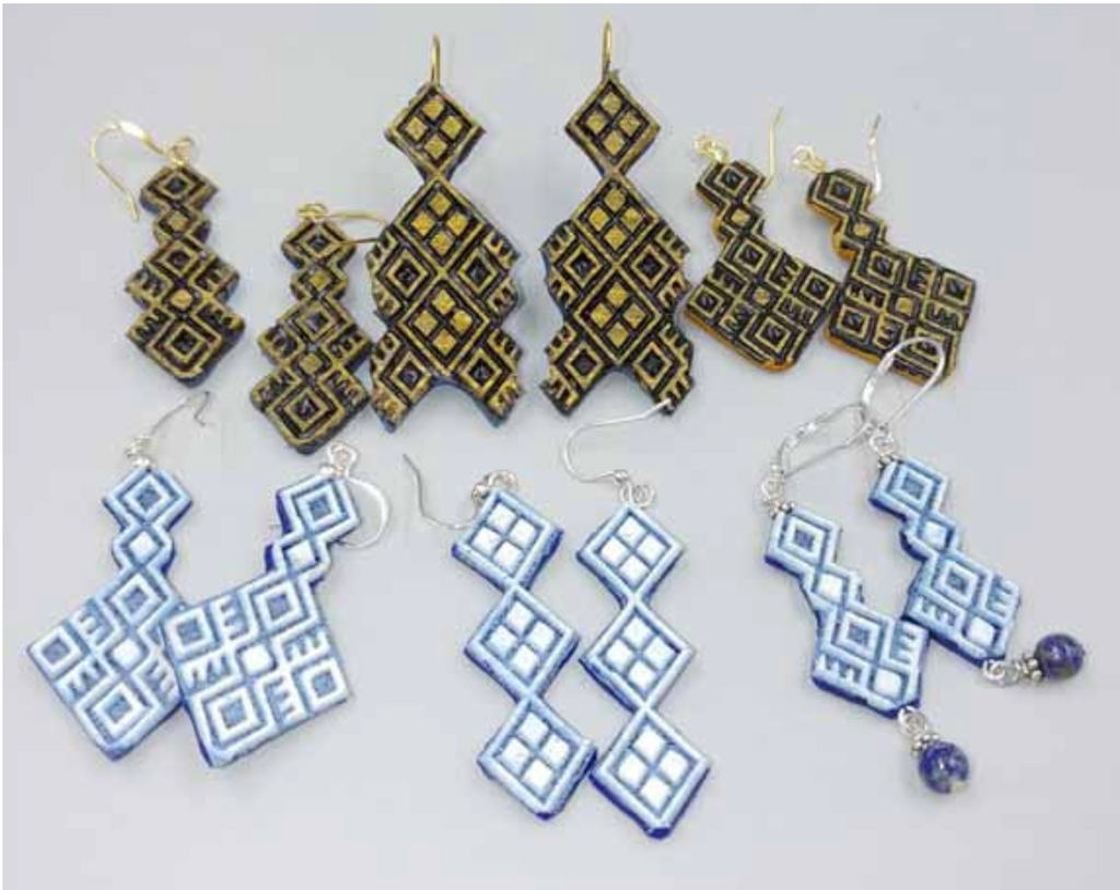 You don't want to miss this idea - learn how to make polymer clay earrings!  It's Make it Monday with Liz Stefano!