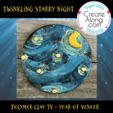 Twinkling Starry Night - Year of Veneer