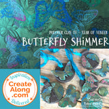 How to Make a Butterfly Shimmer Polymer Clay Veneer