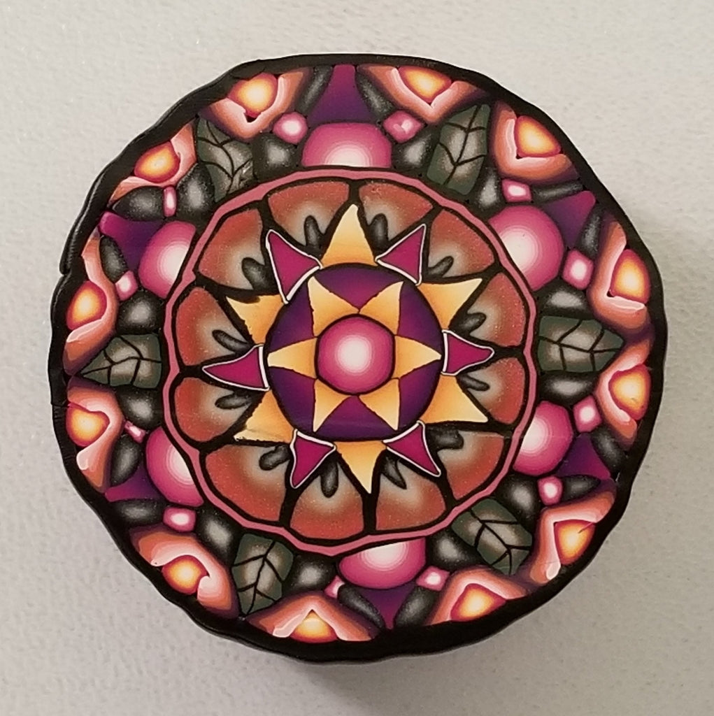 Sherri Thompson - Autumn Love Mandala Cane