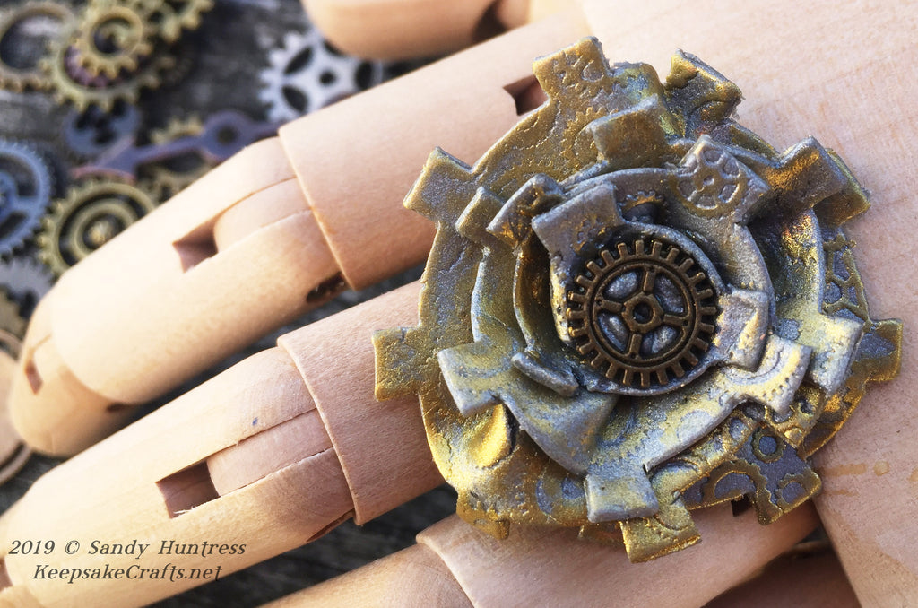Steampunk Rosette Ring Create Along Box Project