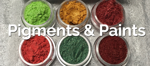 Pigments and Colors for polymer clay