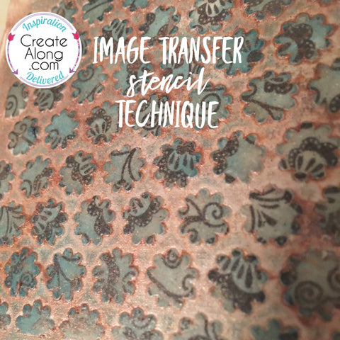 image transfer on polymer clay