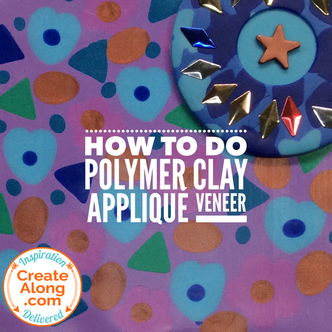 polymer clay applique technique tutorial