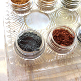 Pigments Mica Powders Essential Metallic for Polymer Clay and Mixed Media Shimmer - Polymer Clay TV tutorial and supplies