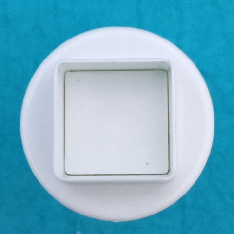 Image of Mini Square Plunger Cutters Set Of 3 Graduated Sizes For Polymer Clay - Polymer Clay TV tutorial and supplies