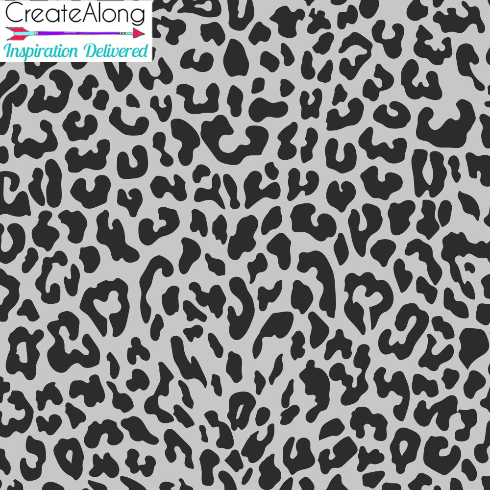Silk Screen Leopard Print Stencil For Polymer Clay - Polymer Clay TV tutorial and supplies