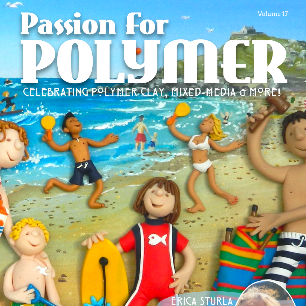 DIGITAL August 2020 Passion for Polymer clay magazine- PDF download