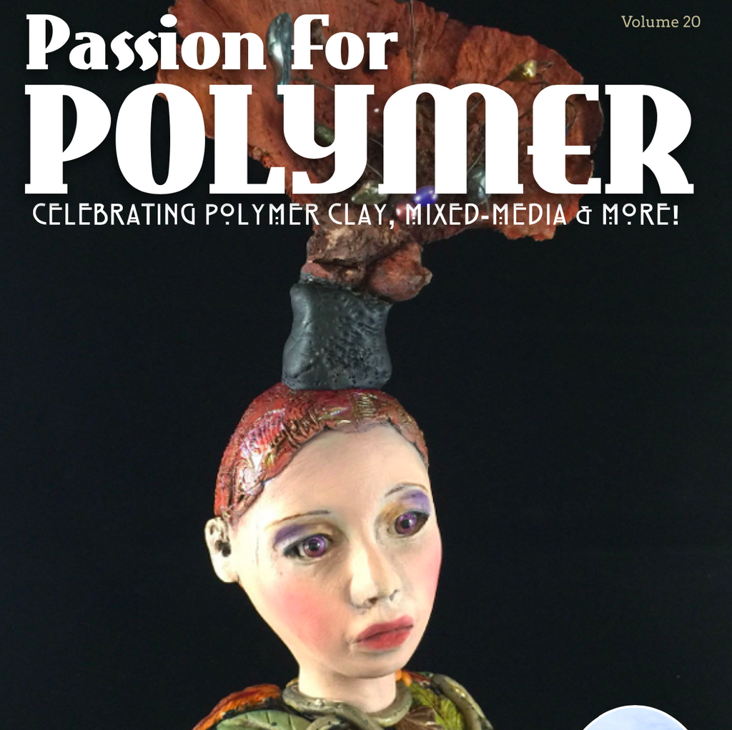 DIGITAL November 2020 Passion for Polymer clay magazine- PDF download Vol 20