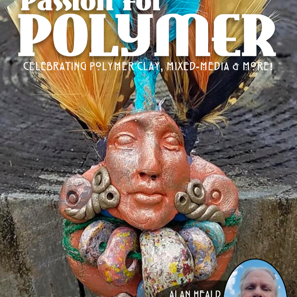Ethnic Inspirations - DIGITAL March 2021 Passion for Polymer clay magazine- PDF download