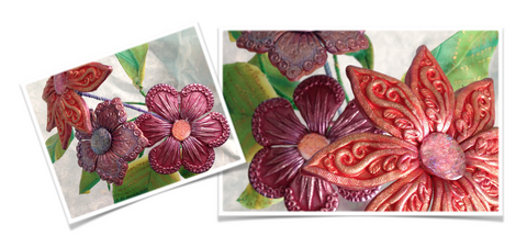Kira Slye's Fabulous Flower's Workshop Polymer Clay Tutorial