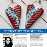 PCU digital magazine with polymer clay tutorials and articles- September issue Volume 19 - Polymer Clay TV tutorial and supplies