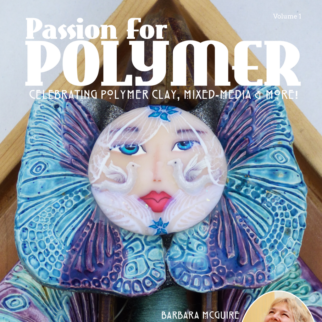 January 2019 Passion for Polymer V1 Digital instant download - Polymer Clay TV tutorial and supplies