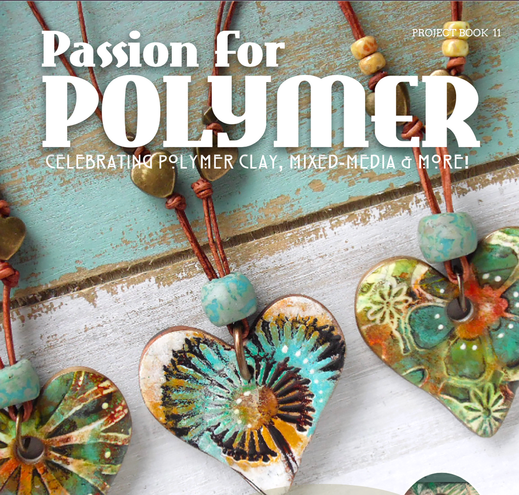 February 2020 Passion for Polymer clay magazine- DIGITAL PDF download - Polymer Clay TV tutorial and supplies