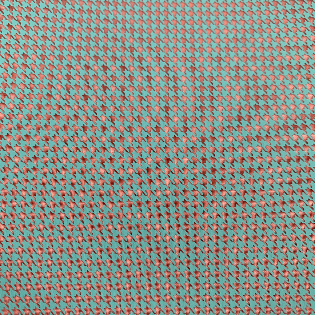 Silkscreen Houndstooth Stencil for Polymer Clay, Art Jewelry and Mixed Media