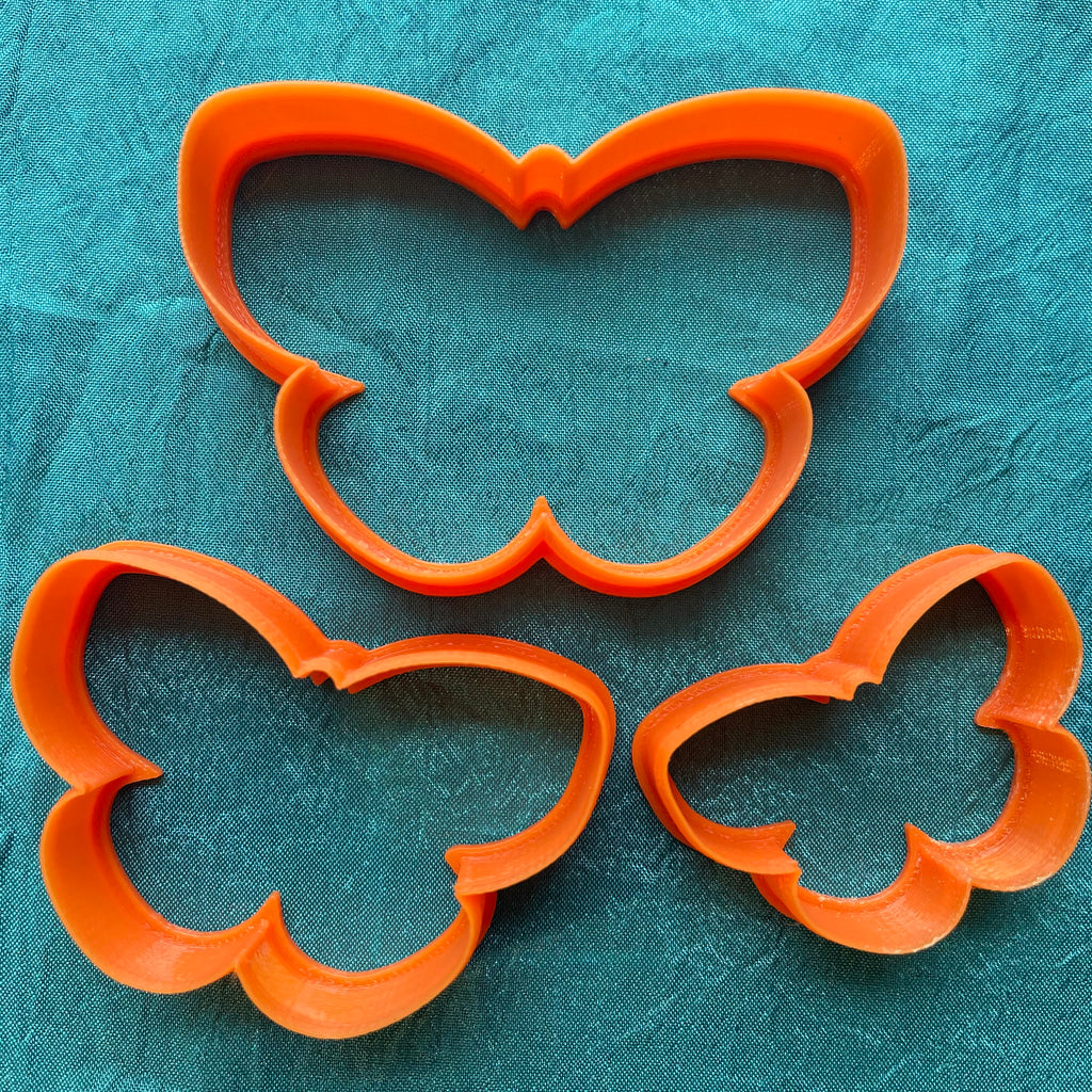 Lisa Pavelka Graduated Butterflies #2 designer Cutters for Polymer Clay Mixed Media jewelry