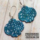 Magic Markings PDF tutorial for interesting patterned designs on polymer clay
