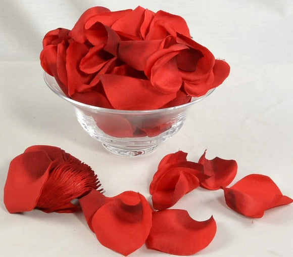 Allstate Red Rose Petals, Artificial Rose Petals, 250 Petals