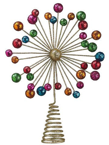 11.5 Inch Starburst Christmas Tree Topper