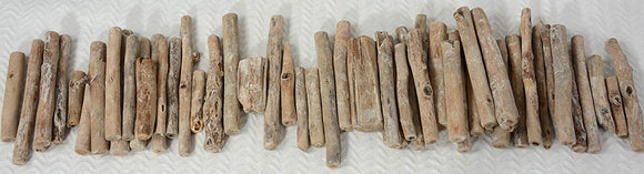 TenWaterloo Natural Driftwood Pieces, 3-6 Inches Long, 1.1 Pound, Vase and Bowl Fillers