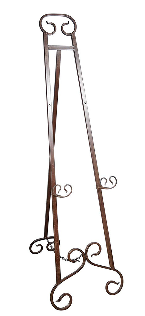 51 Inches High Metal Floor Easel