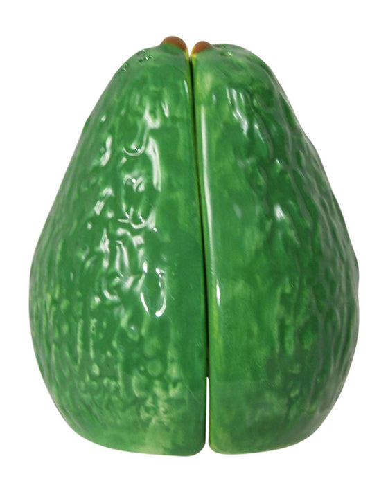 Avocado Salt and Pepper Shaker Set, Ceramic Avocado Salt & Pepper