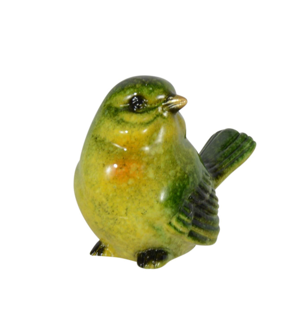 Ten Waterloo Set of 8 Small Songbird Figurines in Realistic Colors and Poses - 1.75 inches high x 2 Inches