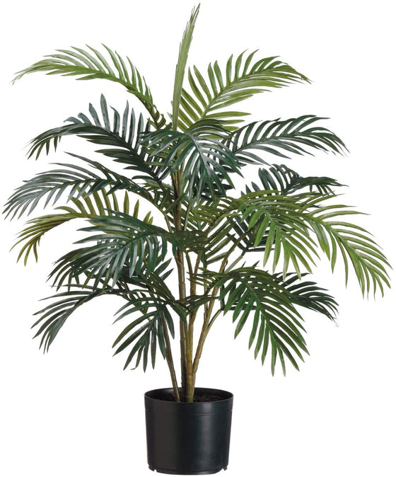 TenWaterloo Artificial Areca Palm Tree Plant in Pot - 32 Inches High